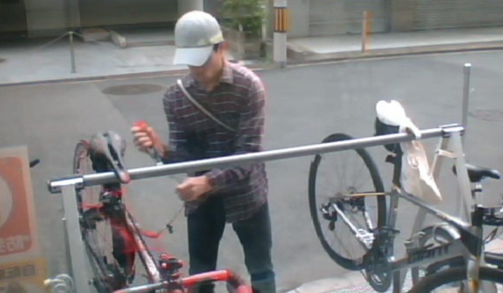 【大阪】ワイヤーをしていても自転車はわずか数秒で簡単に盗まれてしまう!