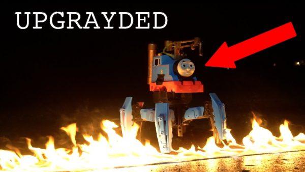 地獄機関車トーマスが一面を火の海に^^; カオスすぎると話題に笑