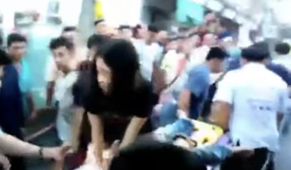 救命活動の女性が謝罪するハメに!「救助にふさわしい服装じゃない」