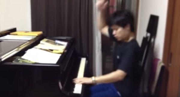 高校生が本気で「ラジオ体操」の曲をピアノ演奏した動画が素晴らしい!「上手すぎ」「面白すぎ」の声