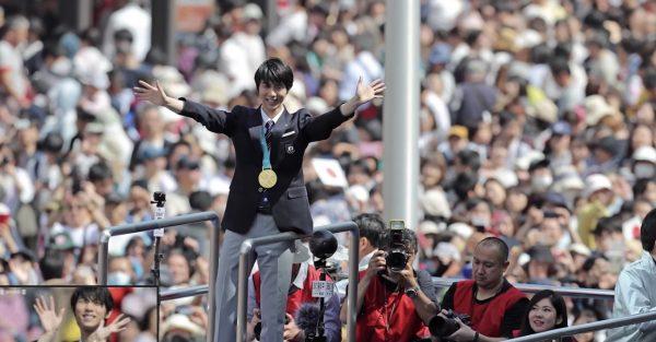 羽生選手のパレード後のファンのマナーの良さが話題に!「感動しました。ぜひまた仙台へお越しください。」