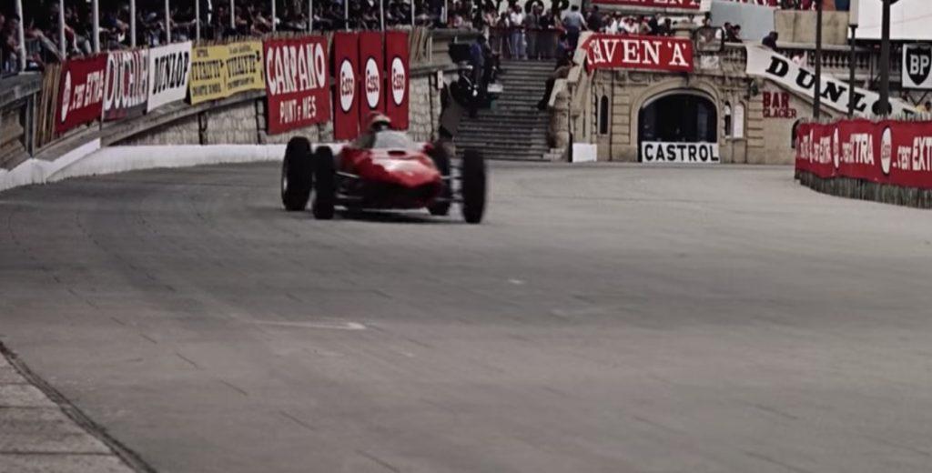 1962年のF1モナコグランプリを収めた超高画質なカラー映像に驚きの声!「こうも高画質だと昔の出来事に思えない」