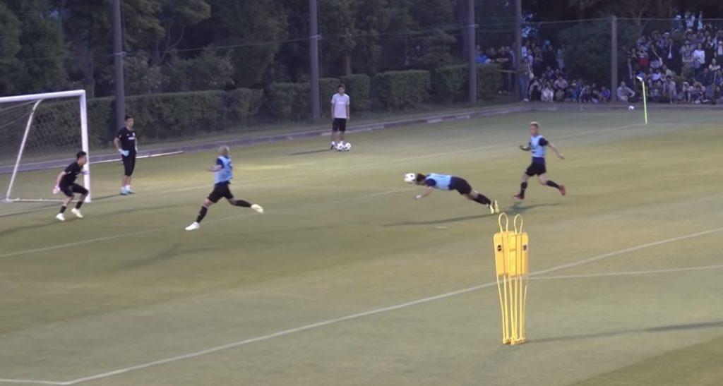サッカー日本代表のシュート練習が下手すぎて落胆するファン続出「世界との差がよくわかる、、」