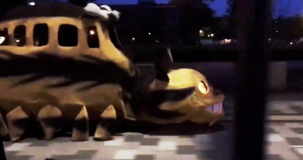 【広島】路上を「ネコバス」が走っていたと話題に!「凄い!」「あなたの心が綺麗だから見えたのです」の声