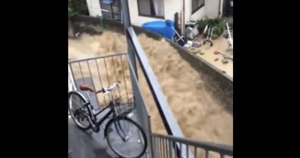【西日本豪雨】濁流から家を守った薄い塀が海外で話題に!「職人技だ」「施工業者の技術が素晴らしい」などの声