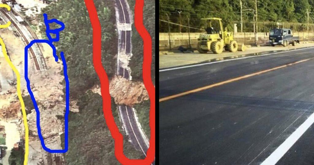 【西日本豪雨】甚大な被害の国道31号がたった数日で復旧!発想が「天才的」と話題に!