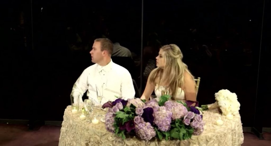 結婚式の最中、喉を詰まらせ死にかけた客。それを見た新郎の行動がかっこよすぎる!