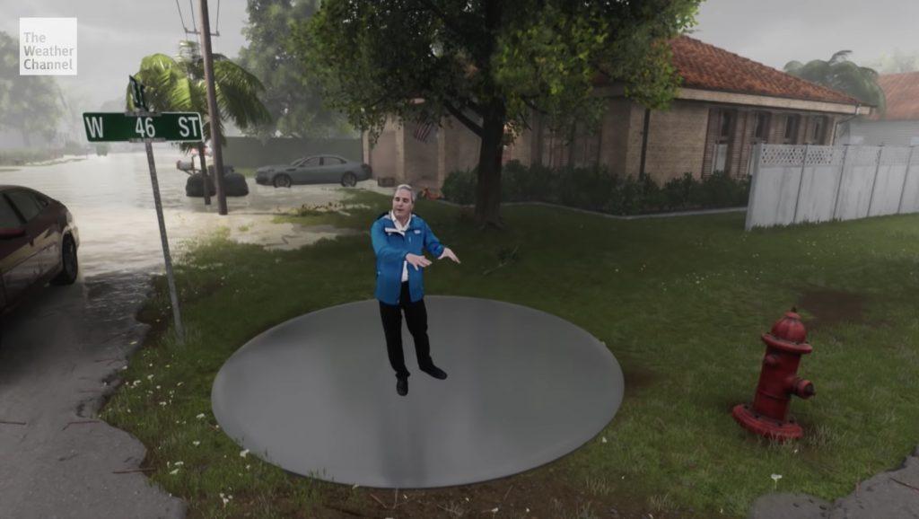 「こんなの見たら絶対逃げる」ハリケーンの恐ろしさが一発で分かる!視覚的に伝えるアメリカの天気番組がスゴいと話題に!