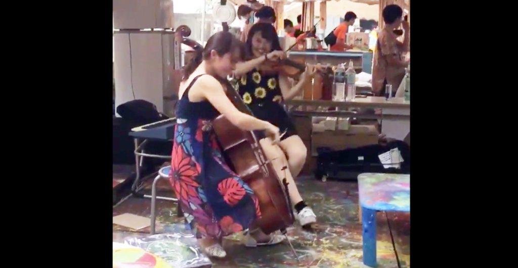 【鳥肌】東京藝術大学の「藝祭」。その辺で演奏している人の演奏クオリティが高すぎると話題に!「超かっこいい!」などの声
