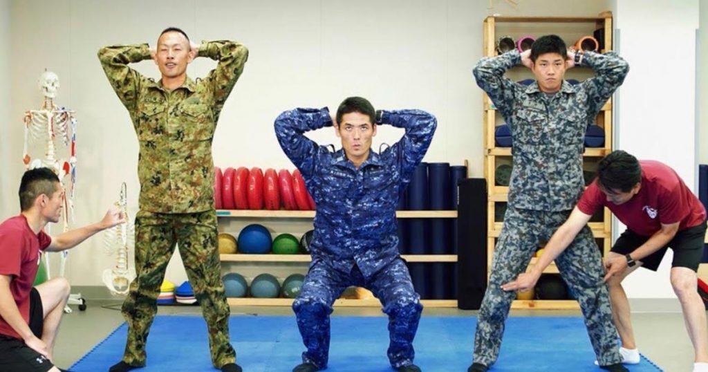 自衛隊公式ダイエット動画「メタボリックから自衛せよ!」が公開!食からトレーニングの方法まで網羅!