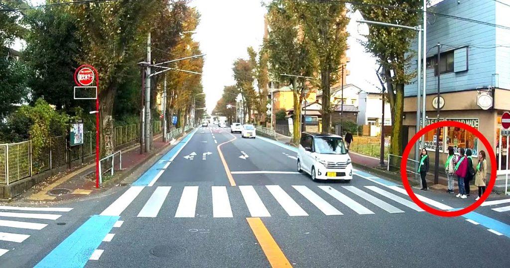 これがプロ!横断歩道で歩行者が待つも、一般車両が次々素通りする中、トラックドライバーの対応は違った!