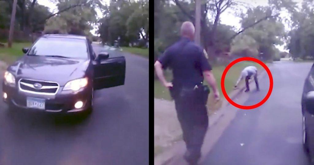 路上に止まる不審な車。警察官が近づくと、そこには小さな命を救おうと懸命な一人の青年がいた