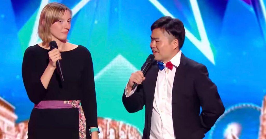 お笑い芸人ウエスPさんが、フランスの有名オーディション番組に登場!会場は大爆笑に包まれ、決勝に進出に!