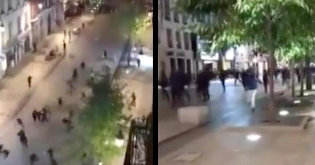 フランスのハロウィンが、日本以上に荒れていると話題に!警察官が催涙弾を発射、放火や略奪などで100人以上が検挙!