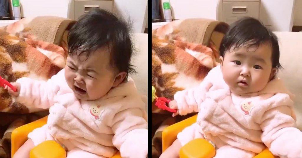 赤ちゃんを泣き止ませるには反町隆史の「ポイズン」が効果的!一瞬で泣き止む動画が話題に!【ライフハック】