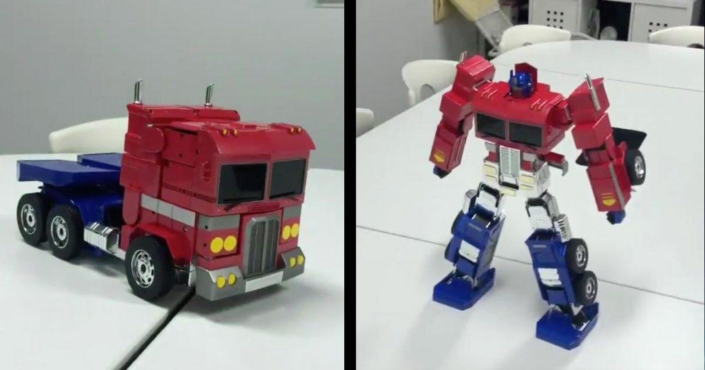 トランスフォームするおもちゃの完成度が高すぎると話題に!スゴすぎてCGに見えるレベル!