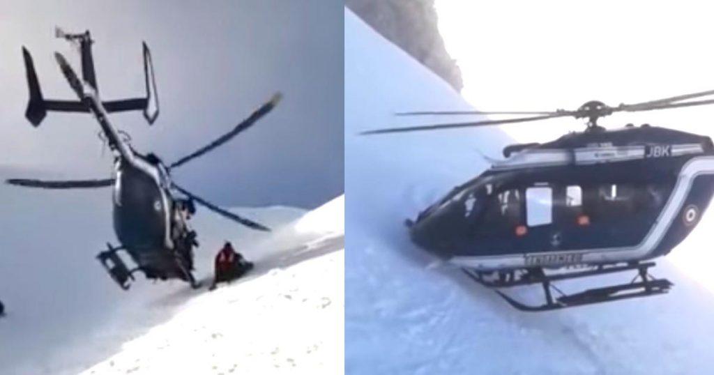 【神業】凄い技術で遭難者を救助するヘリ。パイロットの勇敢さとテクニックに世界中から賞賛の嵐!