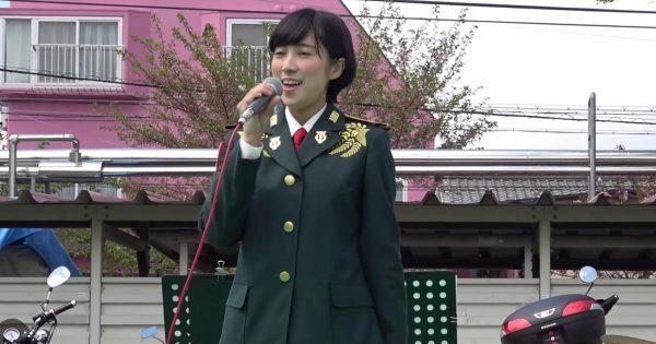 陸上自衛隊の歌姫が歌う「魔女の宅急便・やさしさに包まれたなら」がスゴい!圧倒的歌唱力に鳥肌!