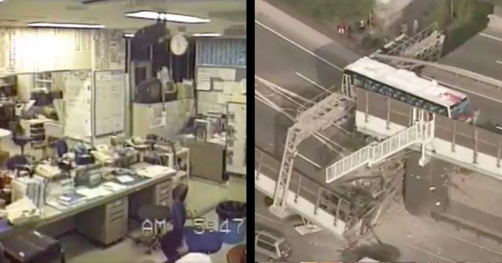 あの日を忘れない。。24年前の今日阪神淡路を襲った「阪神淡路大震災」。NHKが公開した地震の瞬間と直後の映像が胸に突き刺さる
