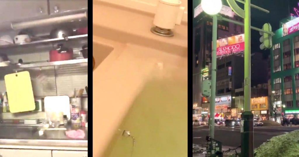 【速報】北海道で震度6弱の地震!地震発生時の状況を映した動画が続々とTwitterに投稿される