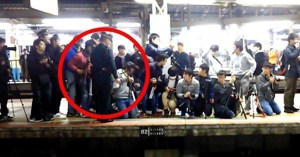 何度注意しても聞かないマナーの悪い「撮り鉄」に駅員さんがブチ切れ!あまりの気迫に「撮り鉄」も大焦り!