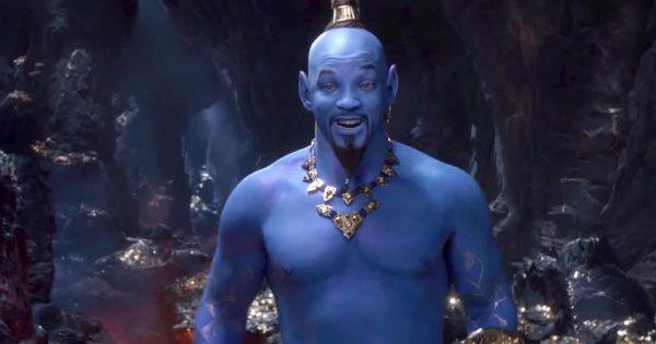 ディズニーの不朽の名作「アラジン」がついに実写映画化!ジーニー役のウィル・スミスがそのまんますぎると話題に笑