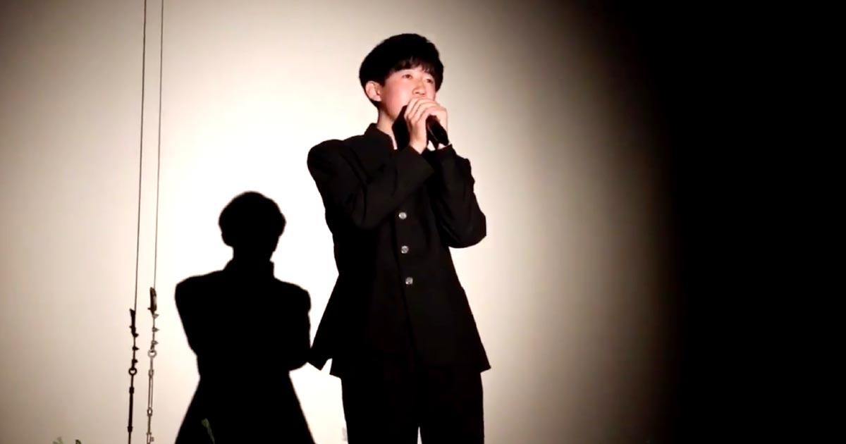 【鳥肌】一見普通の高校生。しかし、スキマスイッチ「奏」を歌い始めると、圧倒的歌唱力に騒ついていた会場は一瞬にして静まり返る!