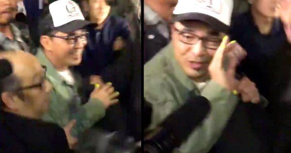 【動画】ピエール瀧の逮捕後、初めて報道陣の前に姿を現した石野卓球!記者の質問にいつもの卓球節で対応し話題に!