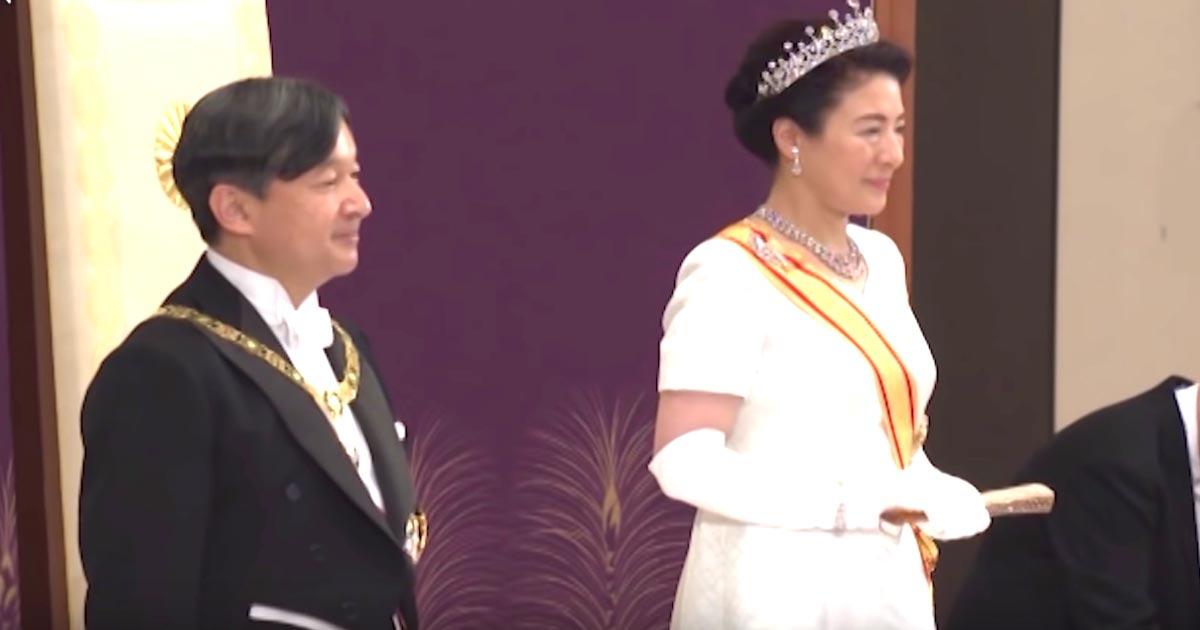 【動画】新天皇、天皇として国民に初めてのことば全文「国民の幸せと世界の平和を切に希望いたします」