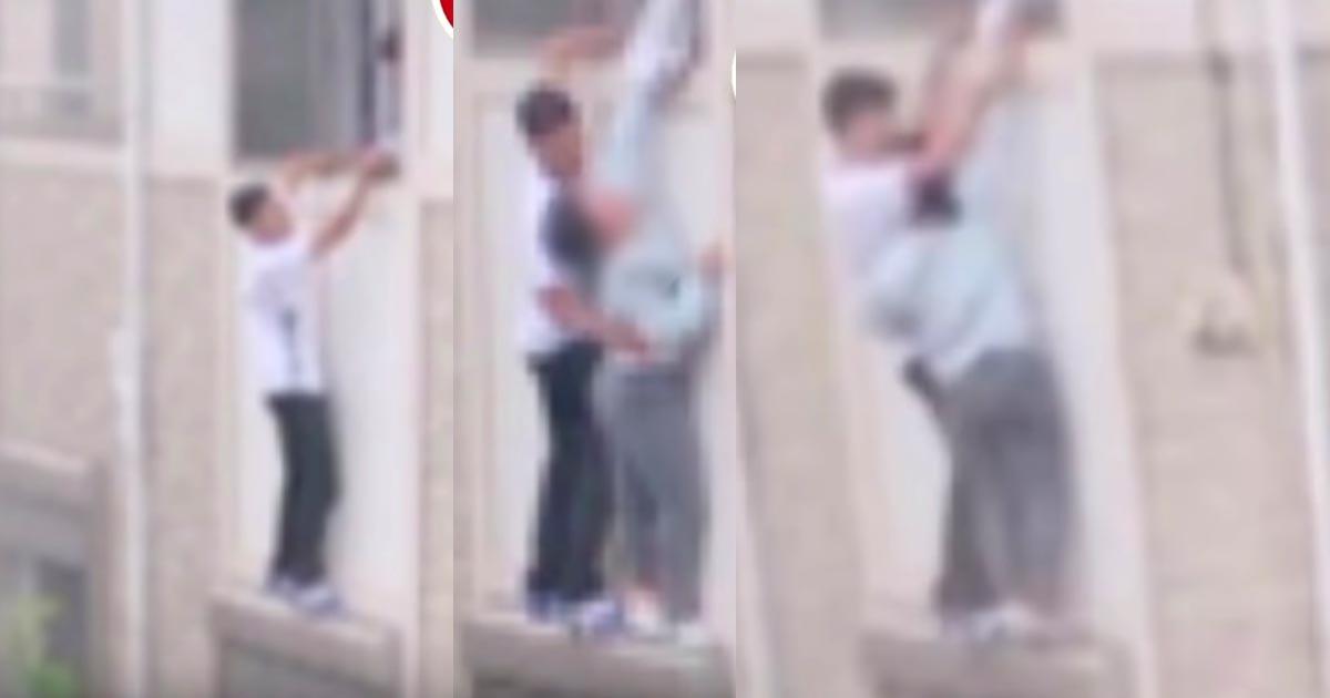 【埼玉】「大丈夫だよ」火災で逃げ遅れパニックの少女を、偶然居合わせた高校生が救助しヒーローだと話題に!