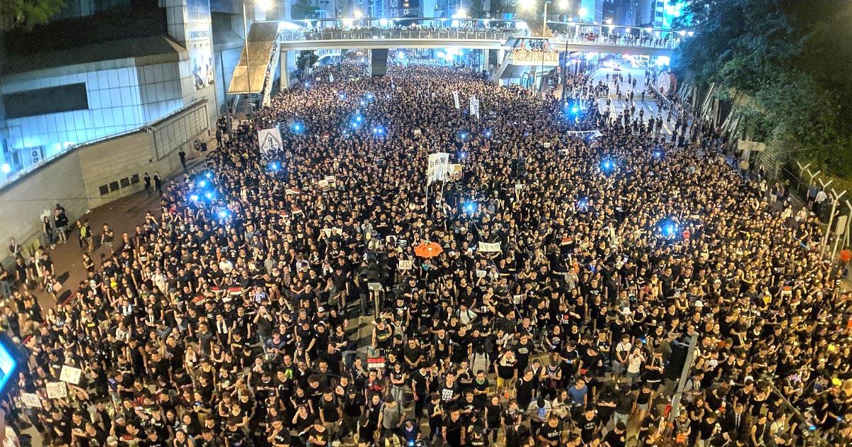 香港「まだデモは続いています!」Yahooニュースなどで「逃亡犯条例」改正案が廃案という記事が拡散され、多くの人が誤解し「誤報」だと物議!