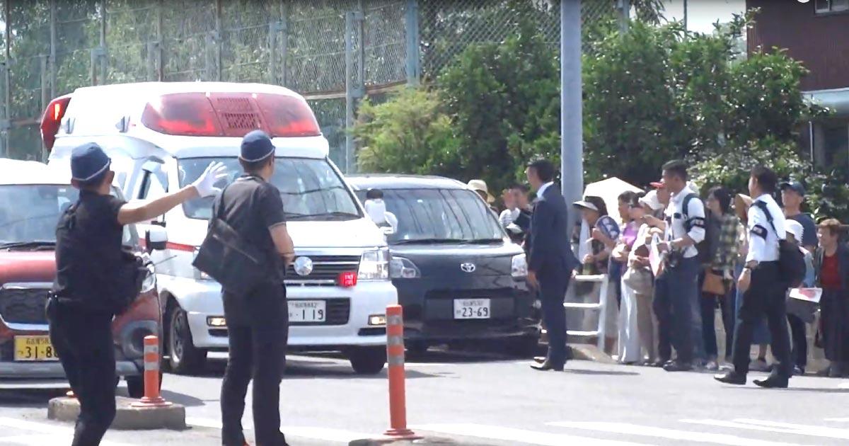 「神対応だ」天皇皇后両陛下の来訪時に救急車が!SPと県警の対応が素晴らしいと話題に!