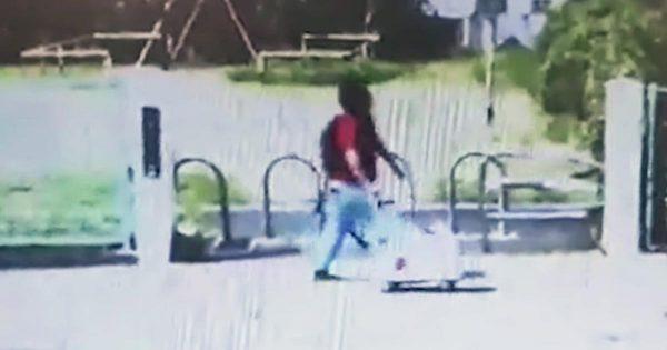 【京アニ事件】青葉容疑者が台車でガソリンを運んでいると見られる動画が公開される