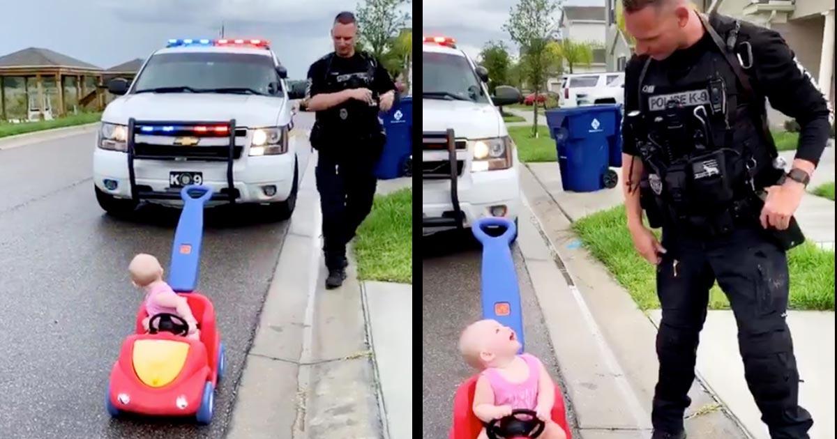 反対車線を走っていた「女性」が警察に止められる動画が話題に!なんと女性は免許の提示すら拒否で大喜び!