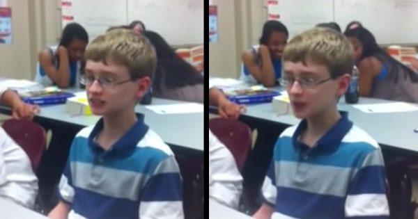 青白くて一見ひ弱そうな少年がスゴ技ビートボックスでクラスは大盛りあがり!それから8年後、彼は今!