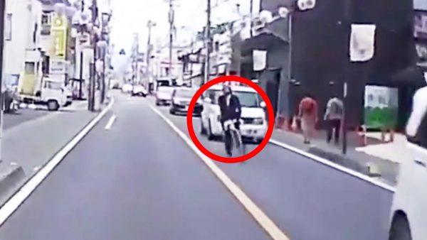 【埼玉】ありえない迷惑行為を繰り返す自転車男が物議!しかし立件難しく桶川市のドライバーは要注意!