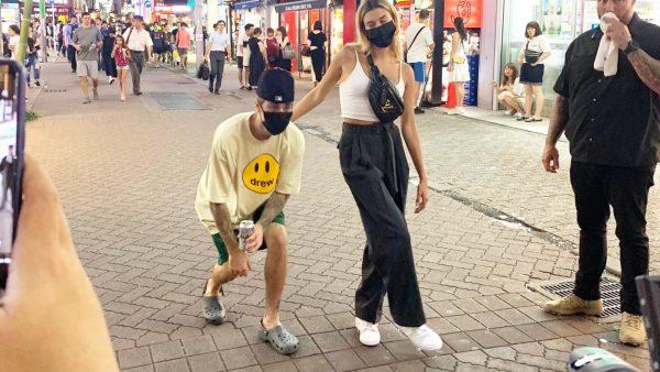 「偽物かと思ったら本物だった」渋谷にラフな格好でジャスティンビーバーがいたと話題に!