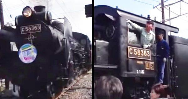 自己中な「撮り鉄」が機関車を急停車させてしまう!