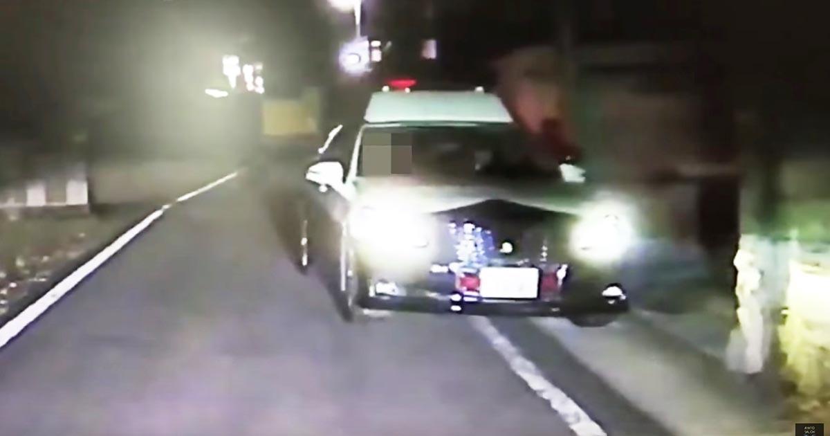 一方通行の道をパトカーが逆走してきた!山形市内で目撃された光景が話題に!