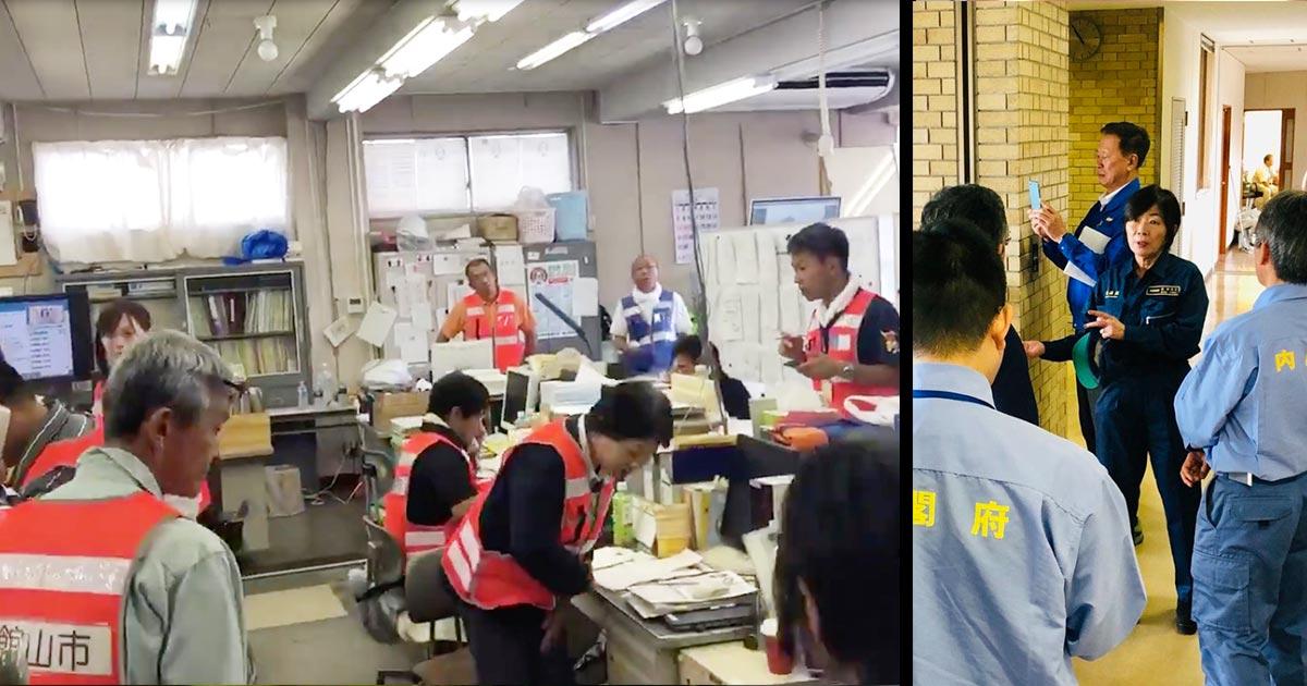 【台風15号】森ゆうこ議員が被災地を視察するも、消防団員から「はっきり言って迷惑な行為です」「邪魔するな」と言われてしまう!