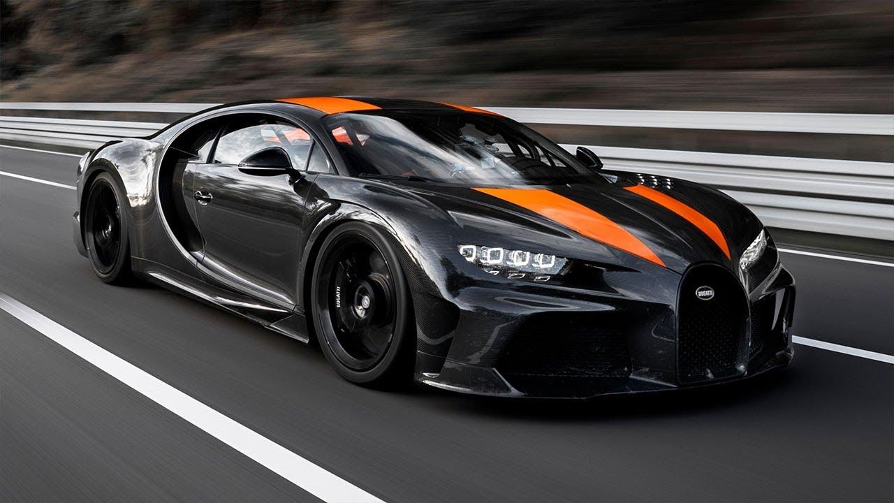【鳥肌】ブガッティ・シロンが490.48km/hで世界最速の市販車に!車載動画が速すぎてヤバい!