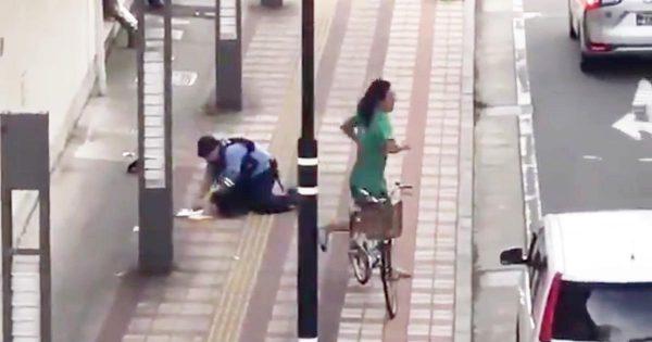 【新潟】「日本じゃないみたい」「海外かと思った」警官を倒して職質を振り切り車で逃げる男が撮影され物議!