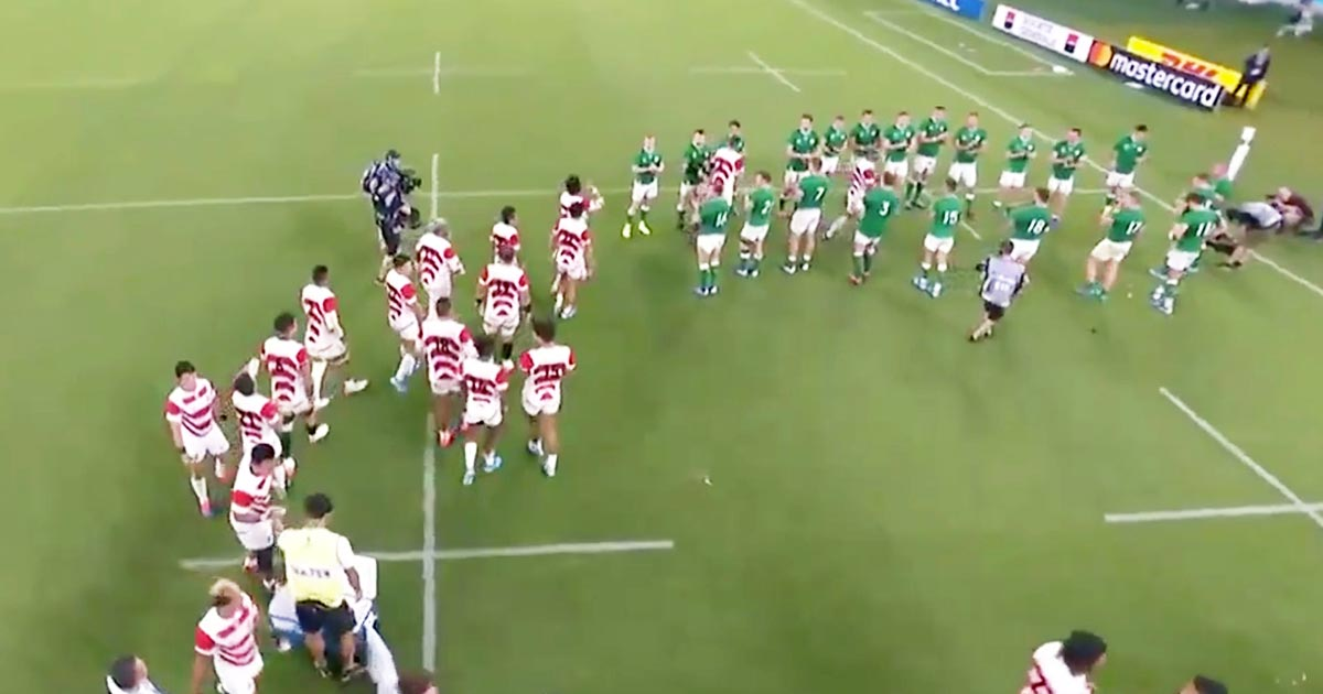 【ラグビーW杯】「美しいの一言」「なんと気高いスポーツ」試合終了後、日本代表とアイルランド代表のスポーツマンシップ溢れる行動に心震えると話題に!