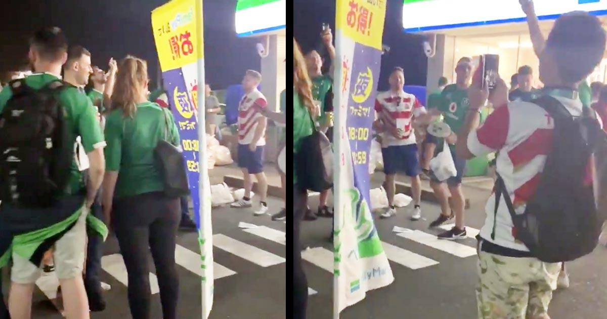 【ラグビーW杯】「勝利した日本を讃えているんだ」試合終了後、負けたアイルランドサポーターたちの神対応が話題に!