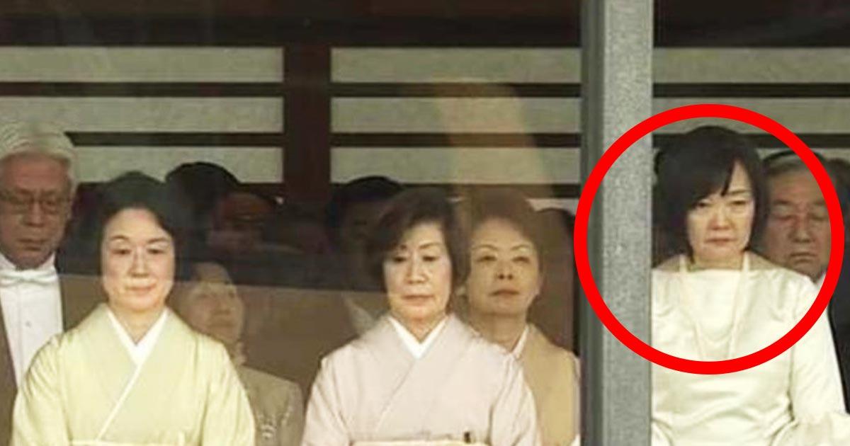 【即位礼正殿の儀】安倍昭恵夫人のファッションが面白すぎたと話題に!「誰も止めなかったんかーい!」「ねずみ返し?」の声