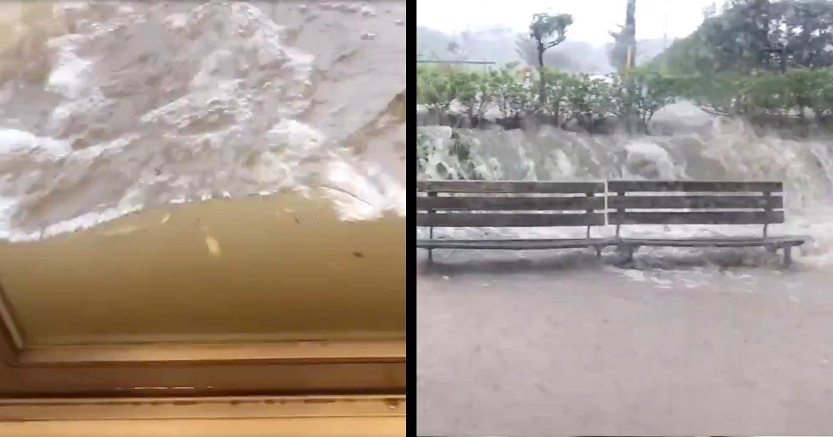 【現地動画】千葉県・市原市の2つの河川で氾濫発生!市は「ただちに安全な場所に避難し命を守る最善の行動」をと呼びかけ!