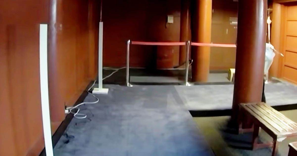 「明らかに人災」5月に首里城の出火元とされる場所を撮影した動画にずさんすぎる配線の様子が映っていて物議!