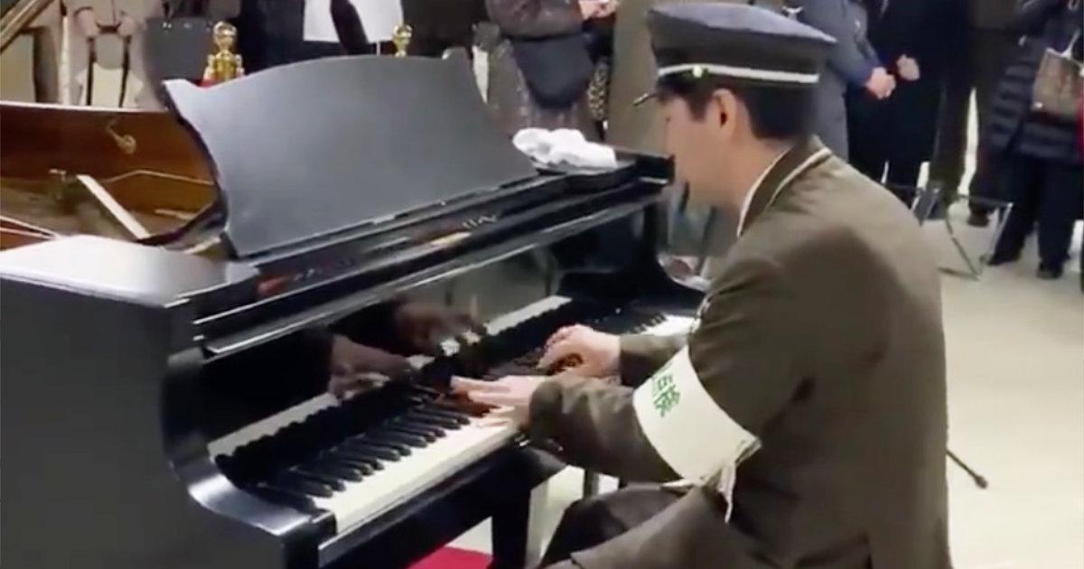 【札幌】休憩中に駅に設置されたストリートピアノで演奏する駅員さんが凄いと話題に!