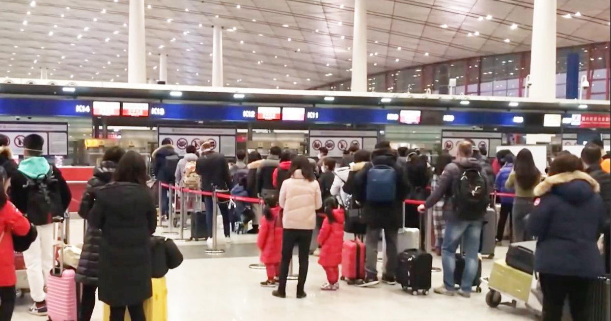 【新型肺炎】中国政府、国民の海外旅行を事実上禁止に!「英断」「ありがとう」の声が寄せられる!