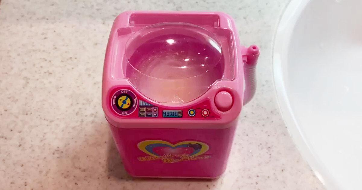 ダイソーで300円で売っている洗濯機のクオリティが高くて超使えると海外で大流行中!
